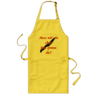 """""""Mess With The Chef 2"""" Apron"""