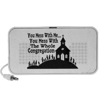 Mess With Whole Congregation Notebook Speaker
