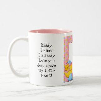 Message Daddy mug