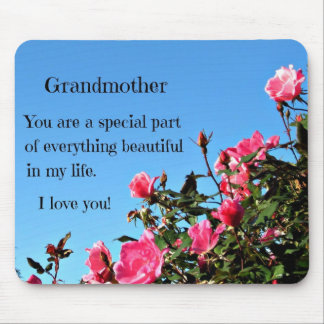 Message for a special, loved Grandmother. Mouse Pad