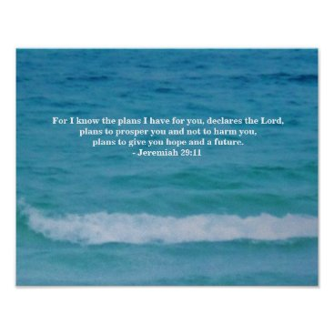 Ocean Themed MESSAGE FROM GOD (FOR YOU) POSTER