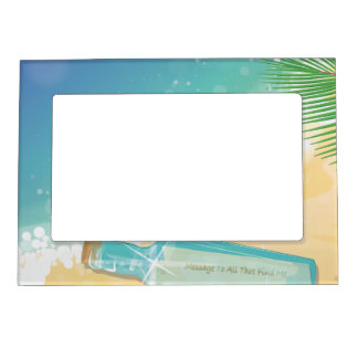Message in a Bottle Magnetic Picture Frame