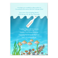 Message in a Bottle Post Wedding Brunch Invitation