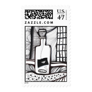 Message in a Bottle Stamp