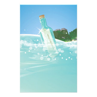 Message in a Bottle Stationery