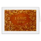 Message In My Soup Cards: I Love You Card