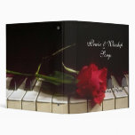 Message in the Music Avery Notebook 3 Ring Binder