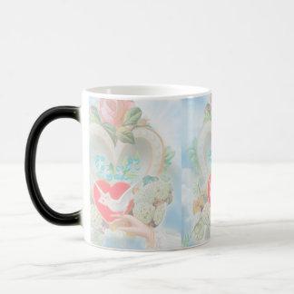 Message of Love Magic Mug