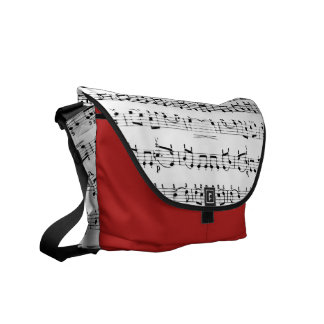 Message of Music Courier Bag
