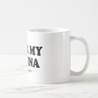 "Message Tee - ""Fear the vagina"" Mug"