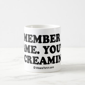 "Message Tee - ""Remember my name"" Mugs"