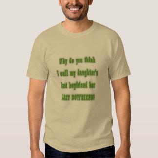Message to Boyfriend - Last Boyfriend T Shirt