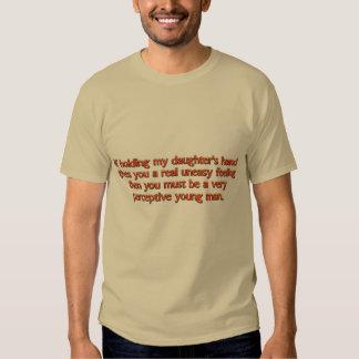 Message to Boyfriend - Uneasy Feeling T Shirt