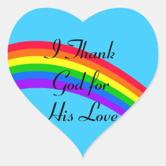 Message to God Sticker