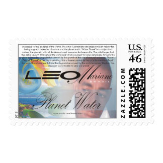 Message to the peoples of the world  by LEOMARIANO Postage Stamps
