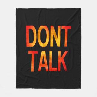 Messages Fleece Blanket