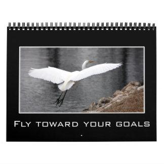 Messages of Affirmation & Positive Thinking Custom Calendar