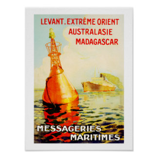 Messagries Maritimes ~ Bouy Posters
