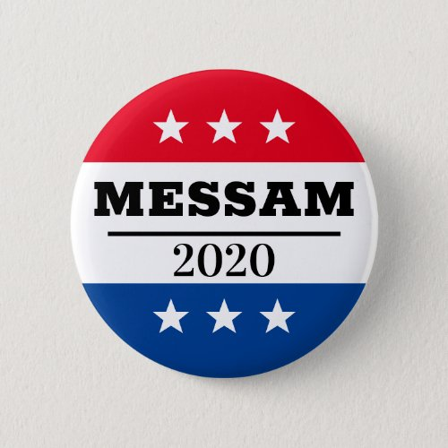 Messam 2020 Election Pin