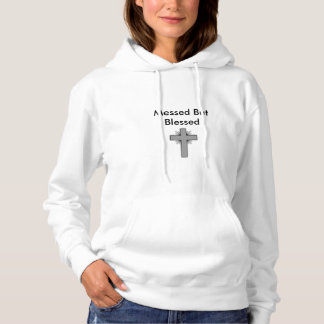 Messed But Blessed Women's Hooded Sweatshirt w/Cro