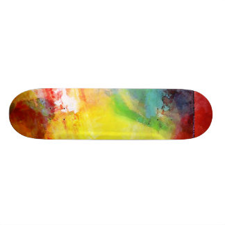 Messed Up Rainbow - skateboard Skate Boards