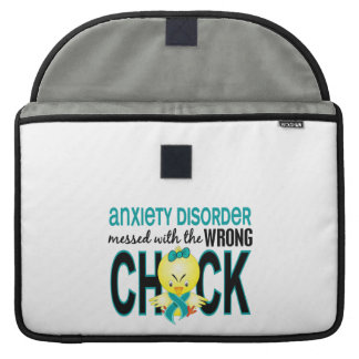 Messed With Wrong Chick Anxiety Disorder MacBook Pro Sleeve