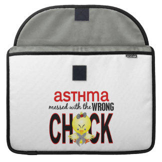 Messed With Wrong Chick Asthma Sleeve For MacBooks