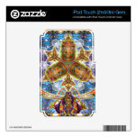 Messege from  Fractal Dimension I-Pod case iPod Touch 2G Skins