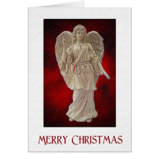 Messenger Angel Christmas Greeting Card
