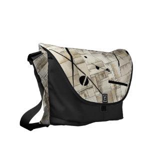 Messenger bag, abstract by DSM Messenger Bag