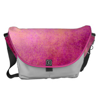 Messenger Bag Abstract Grunge Vintage Retro Style