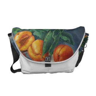 Messenger Bag - Apricots and Peaches Design