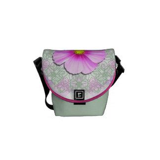 Messenger Bag - Bi-Color Cosmos Lace & Lattice
