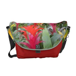 Messenger Bag - Bromeliad Forest
