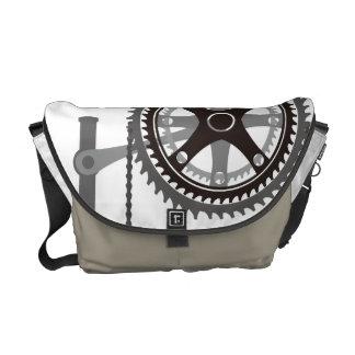 Messenger Bag Change gears¡ メッセンジャーバッグ