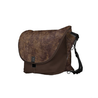 Messenger Bag - Chocolate Strata