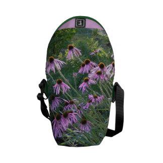 Messenger Bag - Coneflowers