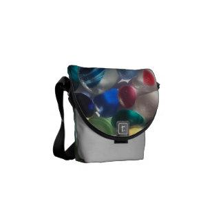 Messenger Bag featuring English Sea Glass
