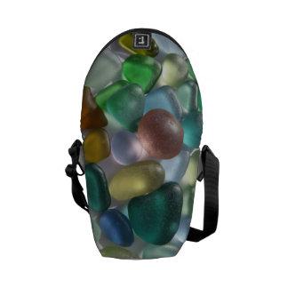 Messenger Bag featuring Greek Sea Glass