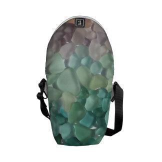 Messenger Bag featuring Puerto Rican Sea Glass