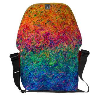 Messenger Bag Fluid Colors