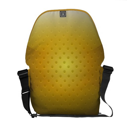 Messenger Bag glossy metal grid