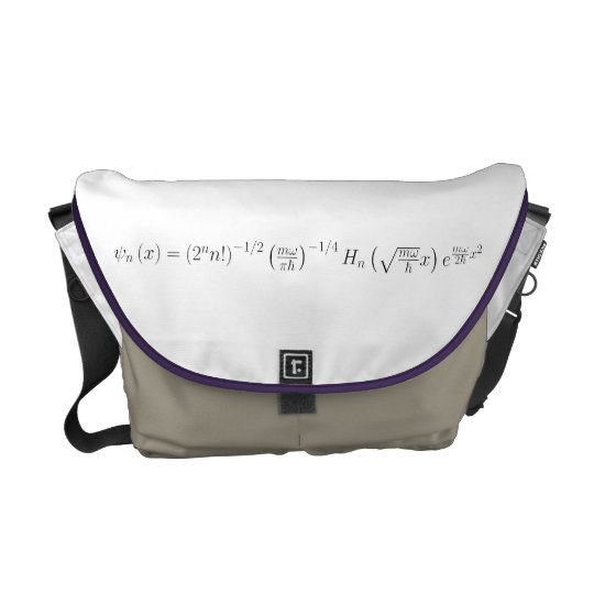 messenger bag, harmonic oscillator messenger bag