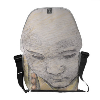 "Messenger bag ""Little Budha"""