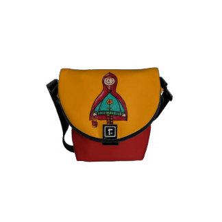 Messenger Bag, Little Red Riding Hood Messenger Bag