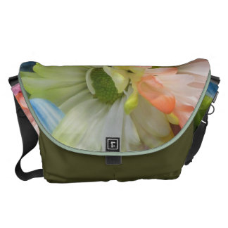 Messenger Bag - MultiColored Daisies II