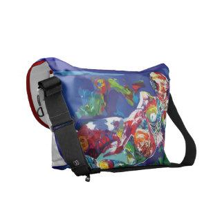 Messenger Bag Pattern Original Artwork Bags
