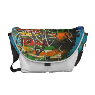 Messenger Bag - Pisces by Soco Freire