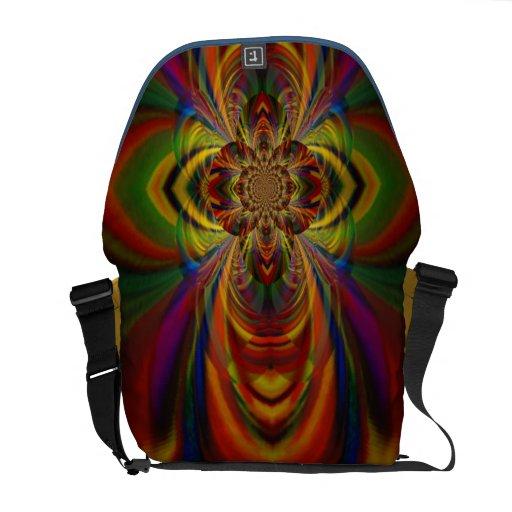 Messenger Bag ``Rainbow Blossom´´