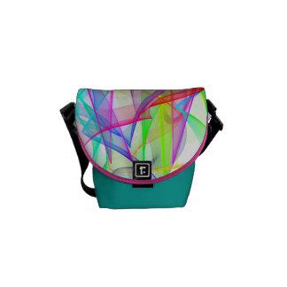 Messenger Bag - Ribbons of Light